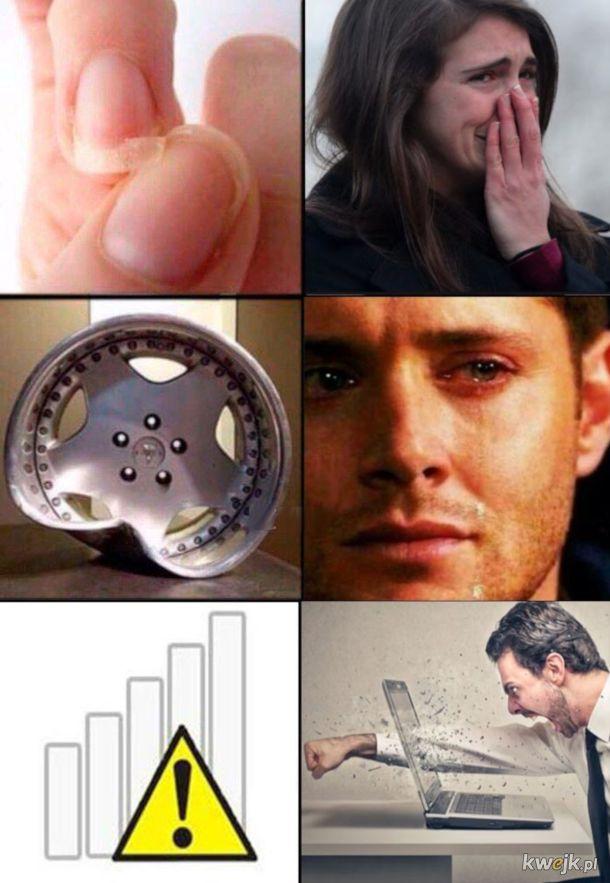 rodzaje bólu