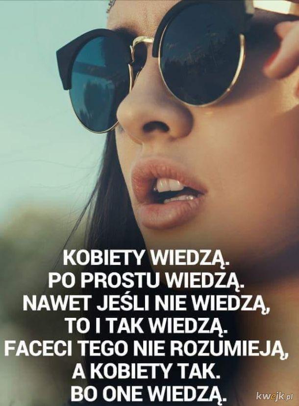 Kobiety wszystko wiedzą