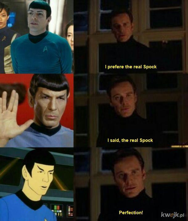 Jedyny prawdziwy Spock
