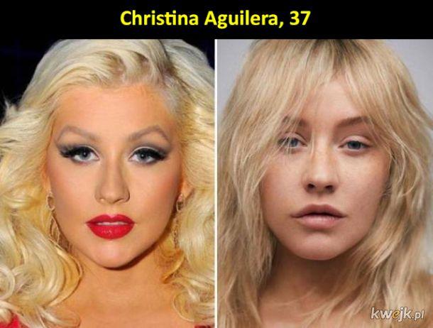 Te celebrytki równie dobrze wyglądają bez makijażu