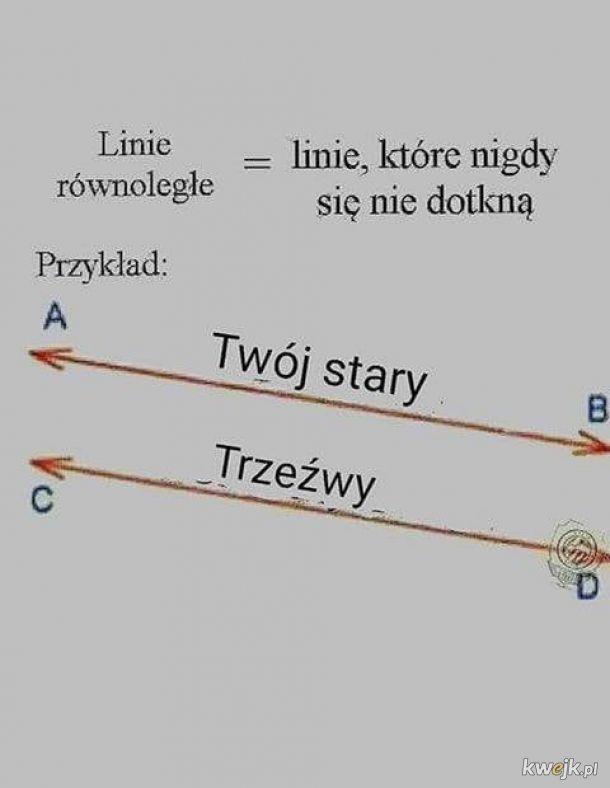 Linie równoległe