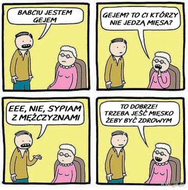 Babcia uświadomiona