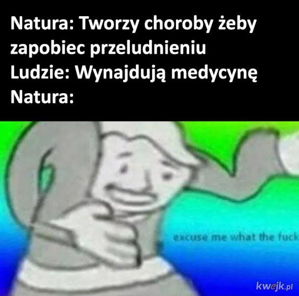 Natura vs ludzie