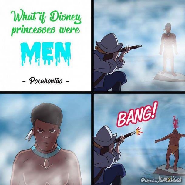 Gdy Pocahontas była facetem xD