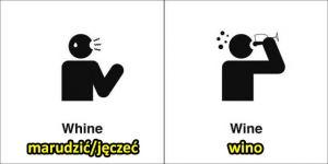 Angielski jest pełen homofonów - czyli identycznie brzmiących wyrazów o różnym znaczeniu