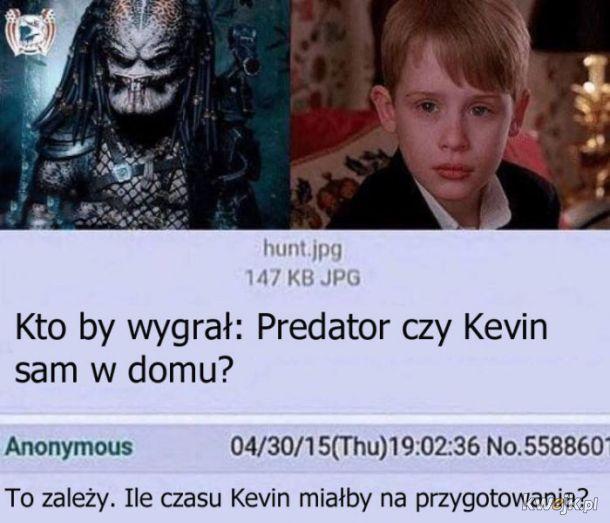 Predator vs Kevin