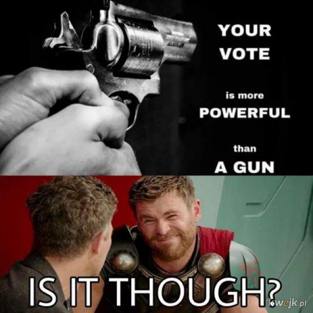 Twój głos ma większą moc od broni
