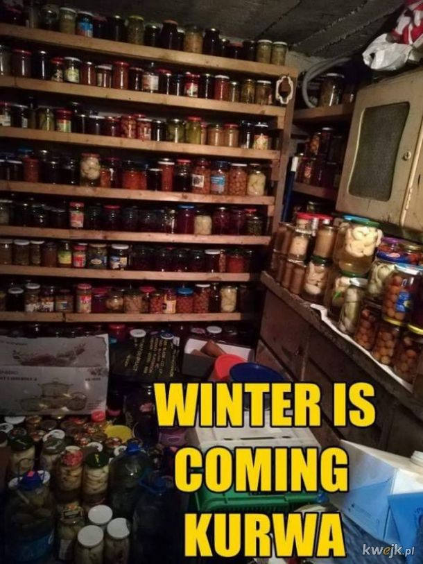 Nadchodzi zima