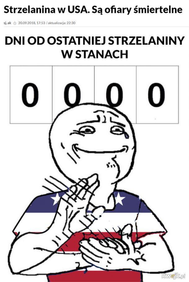 Dobra robota, Ameryko!