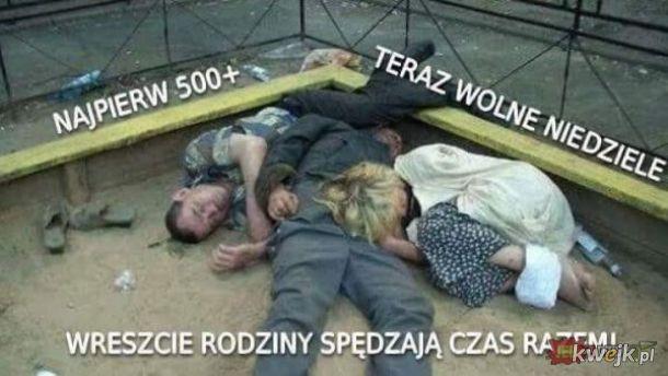 Piękna Polska rodzina