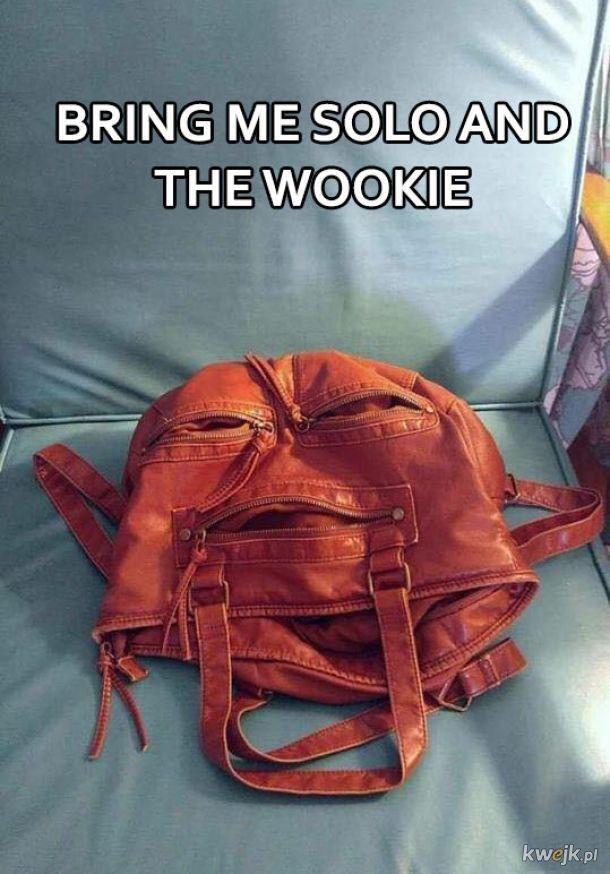 Yang chas Solo chone Wookiee