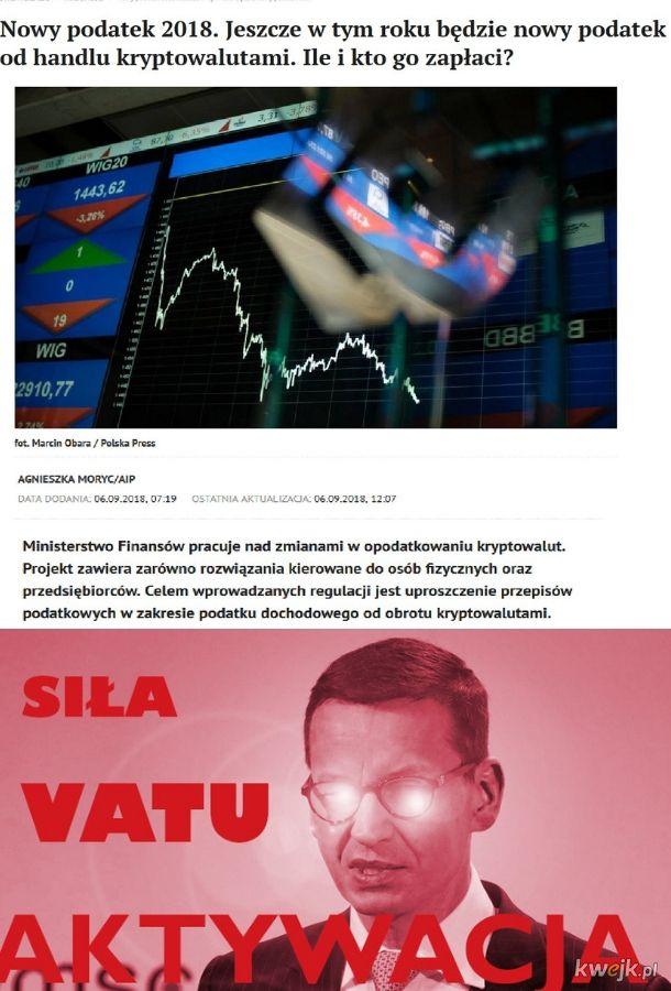 Nowy podatek od bitcoinów