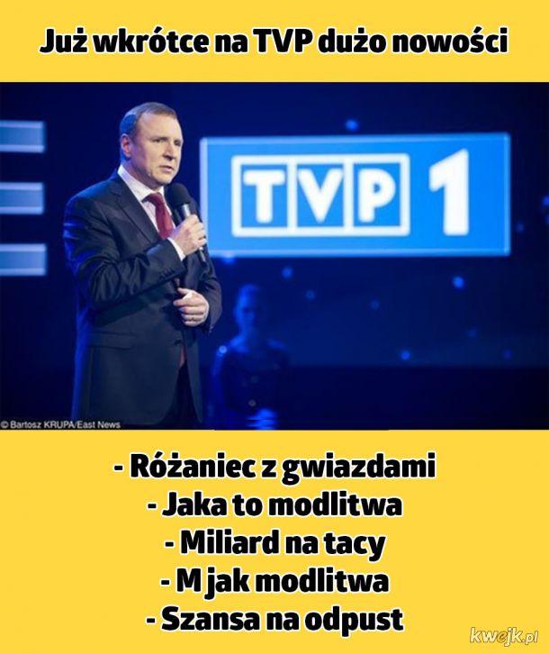 Nowości w TVP