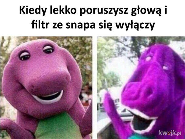 Filtry ze snapa