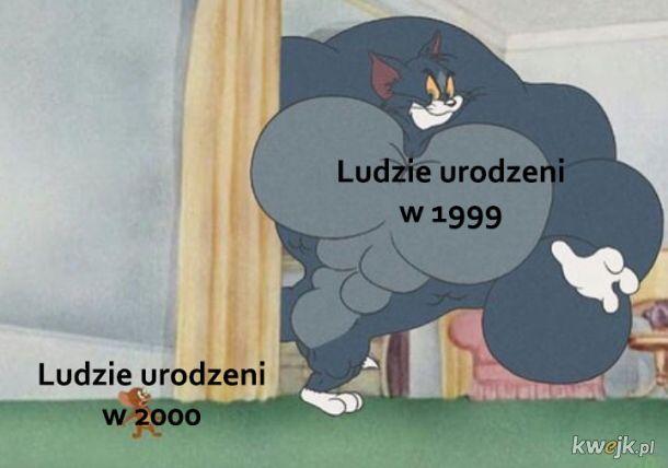 1999 vs 2000