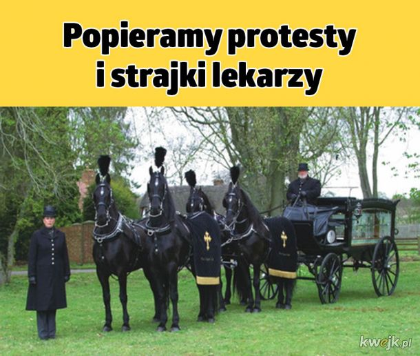 Protesty i strajki
