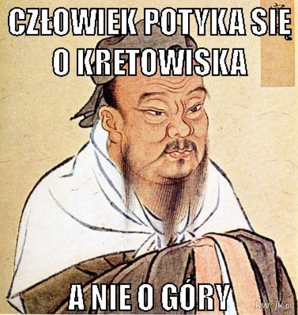 konfucjusz mówi