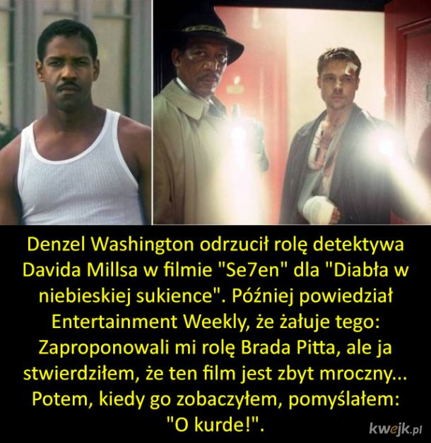Te role mogły trafić do zupełnie innych aktorów