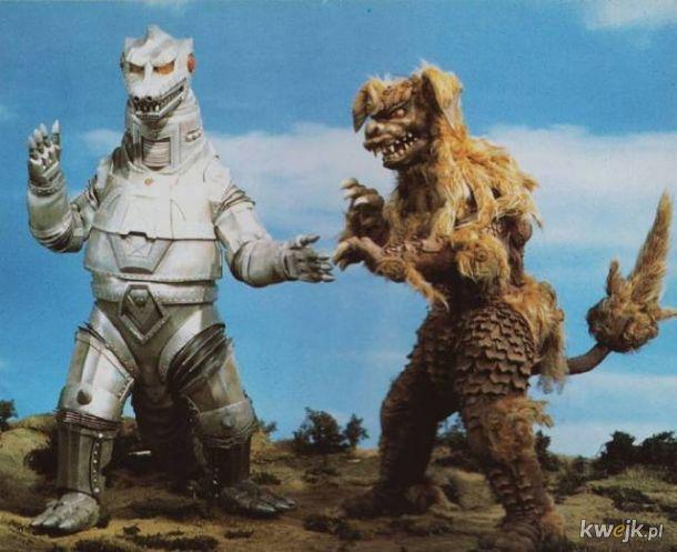 Niesamowite potwory ze starych, japońskich seriali