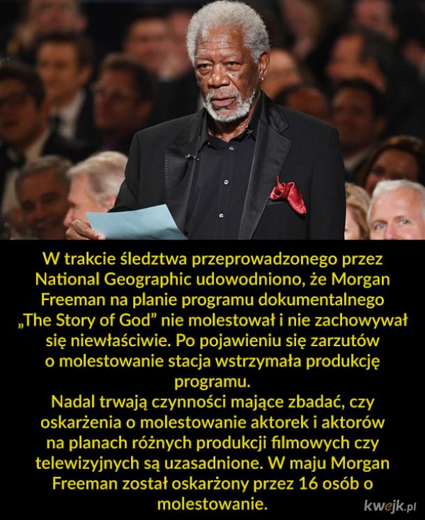 Morgan Freeman wraca