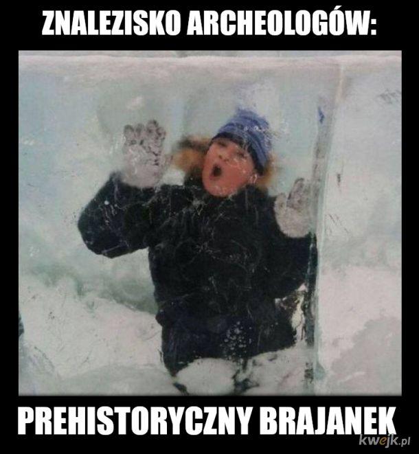 prehistoryczny gówniak