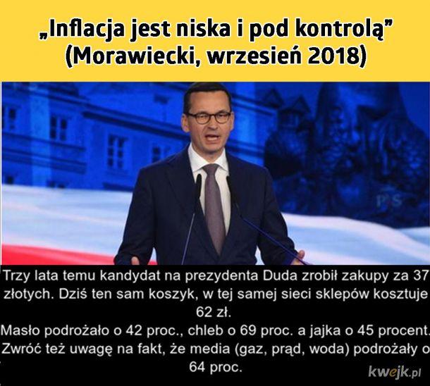 Morawiecki ma wszystko pod kontrolą