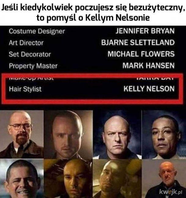 Nie rozumiem po co im fryzjer