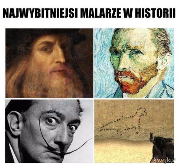 To oni tworzyli dzieła sztuki!