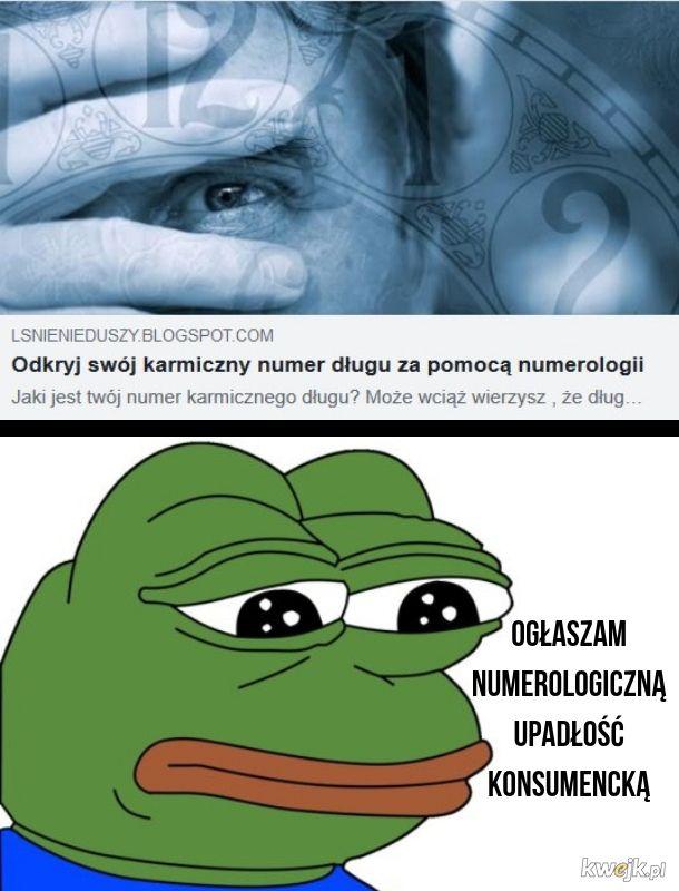 Smutna żaba bankrut
