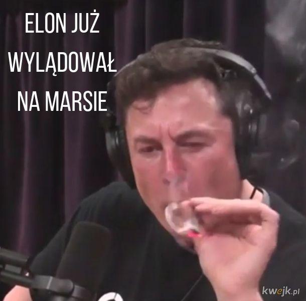 Elon na Marsie
