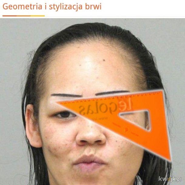Geometria brwi
