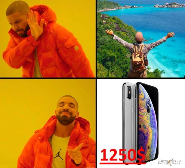 Po co wycieczki jak jest iphone !!