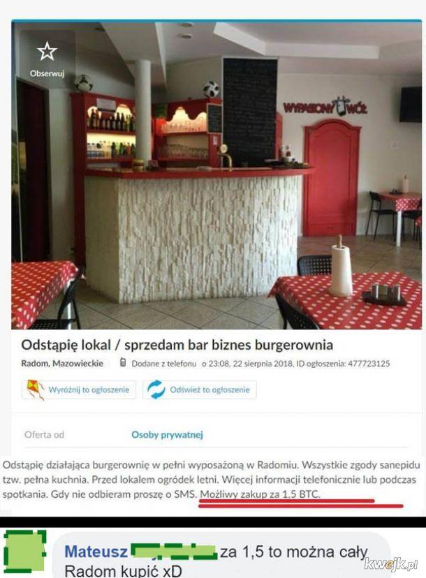 Burgerownia w Radomiu