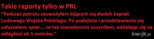 Raport z PRL