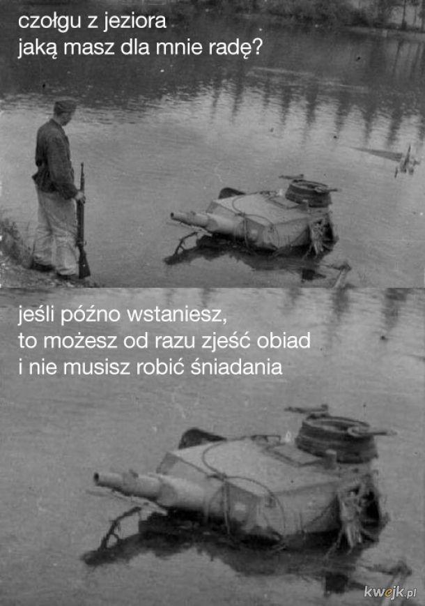 czołgu z jeziora
