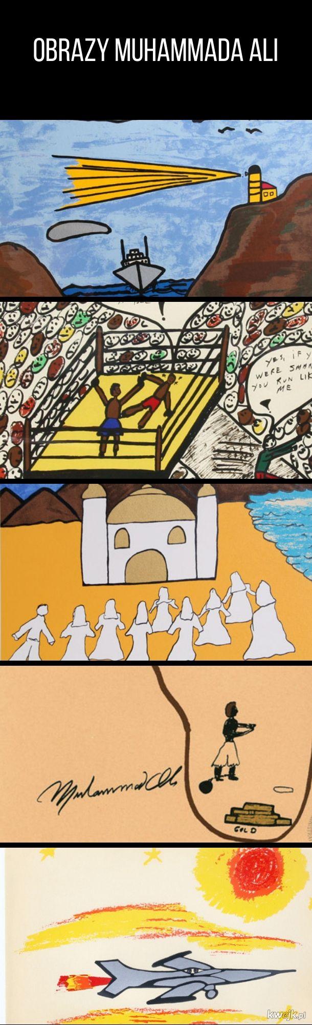 Obrazy Muhammada Ali