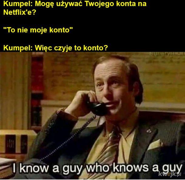Konta na Netflix