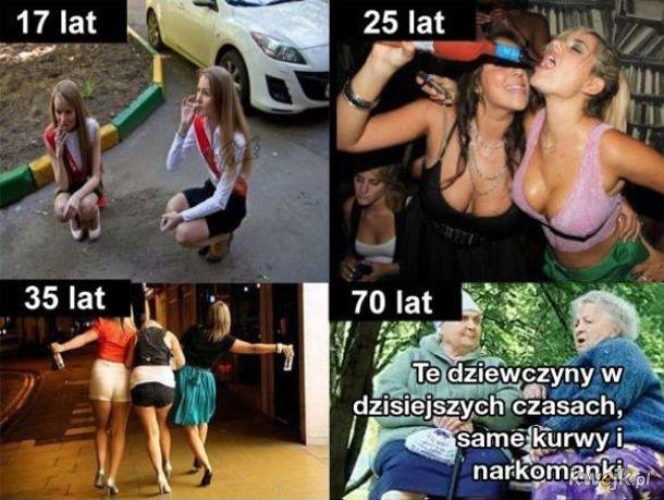 Jak przez lata zmieniają się kobiety