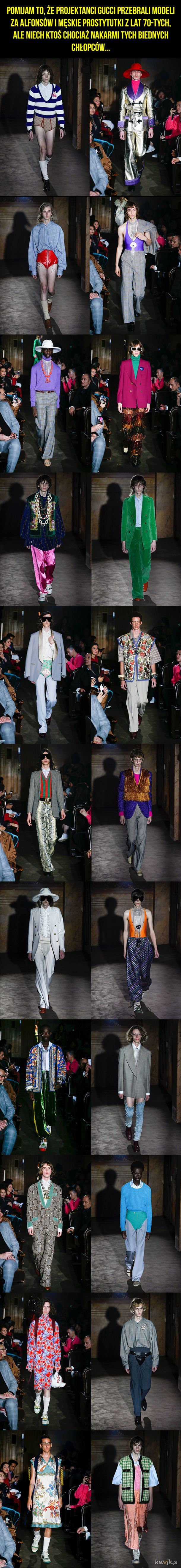 Moda męska według Gucci