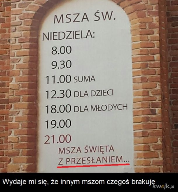 to co z resztą?