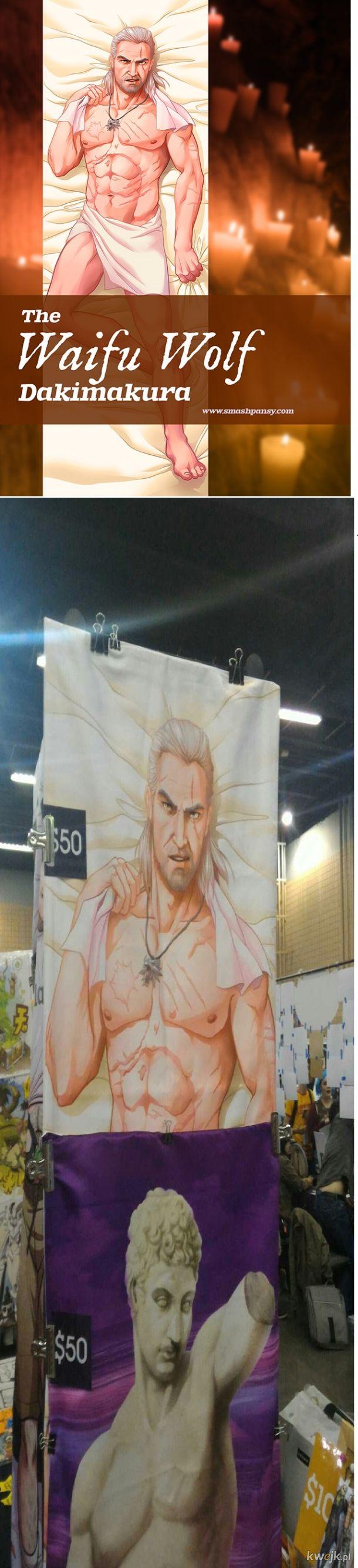 Teraz nawet Geralt, może być waifu.