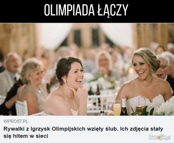 Olimpiada łączy