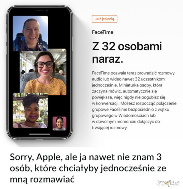 Sorry, Apple