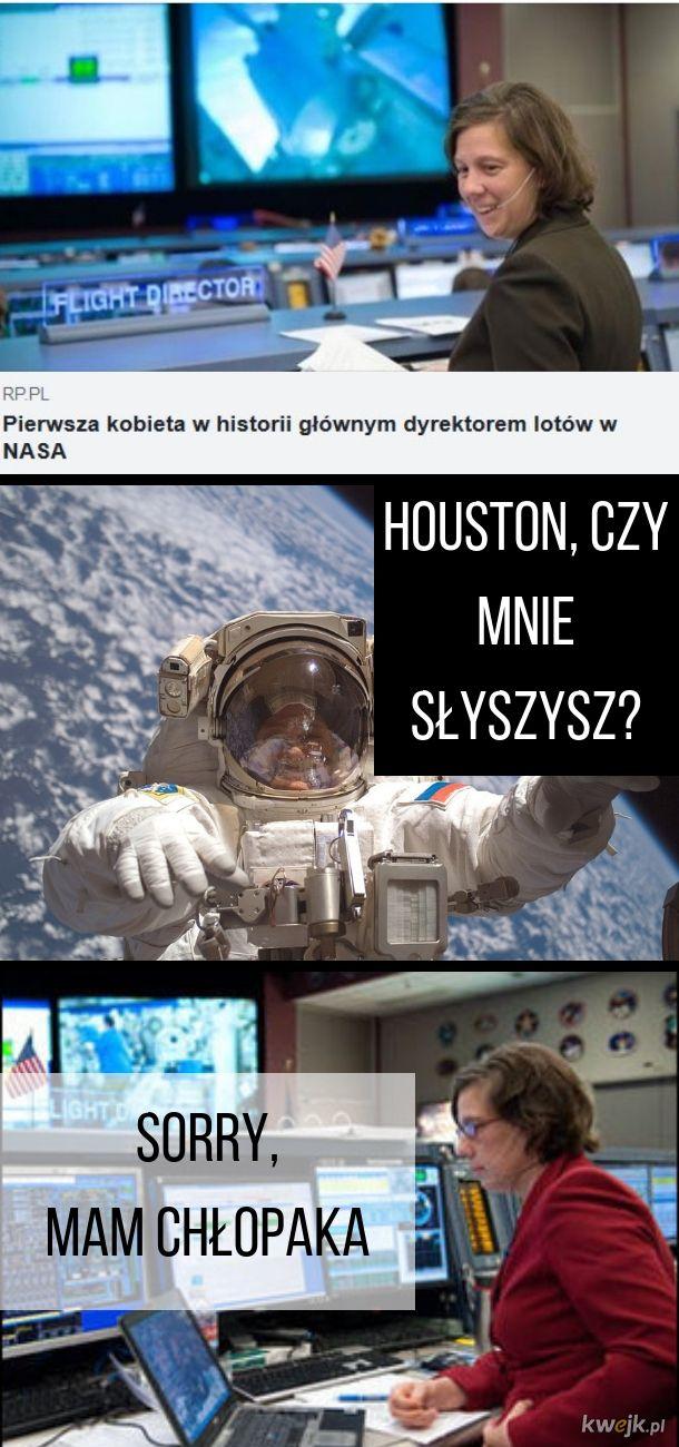 Kobieta w NASA
