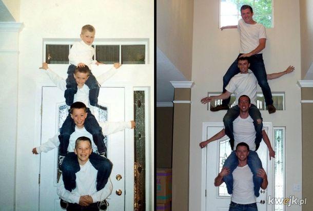 Rodzinne zdjęcia odtworzone po latach