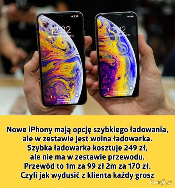Nowe iPhony