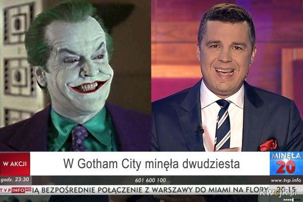 W Gotham City mineła dwudziesta