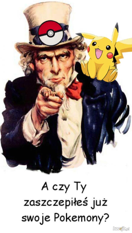 Szczepisz swoje Pokemony? :-)