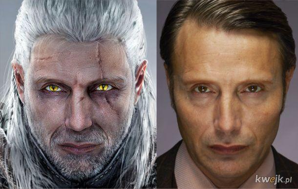 Gdyby Mads Mikkelsen był Geraltem