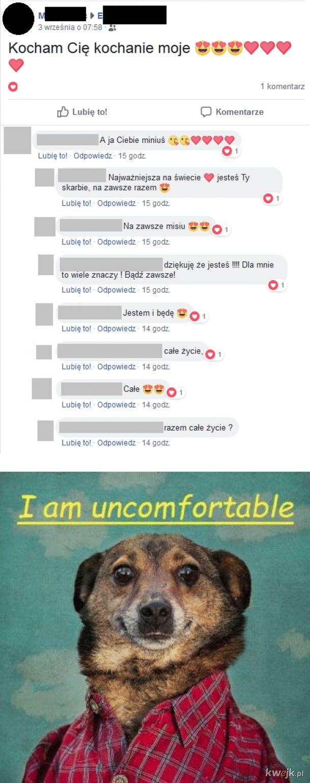 I am uncomfortable